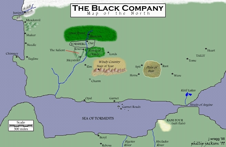 Black Company Maps